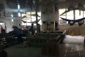 Casting Making workplace