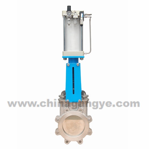 Manual Knife Gate Valve Gangye Valve