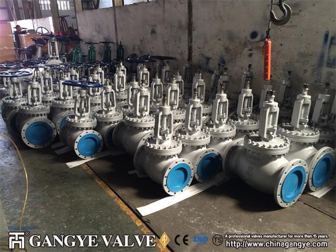 Bolted Bonnet Carbon Steel Globe Valve (2)