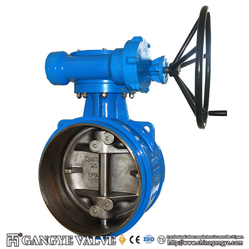 Butt-welding Triple Eccentric Metal Sealing Butterfly Valves (2)