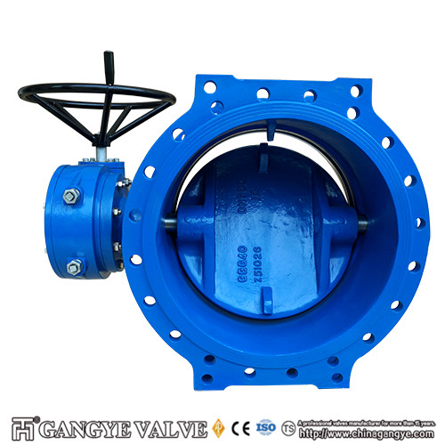 Double-eccentric Flanged Type Rubber Sealing Butterfly Valves (1)