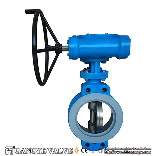 Wafer Type Eccentric Metal Sealing Butterfly Valves