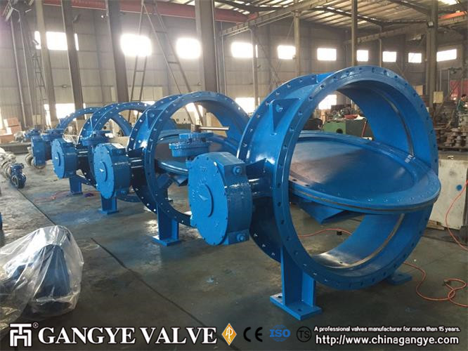 DN1500 Double-eccentric Flanged Type  Metal Sealing Butterfly Valves (3)