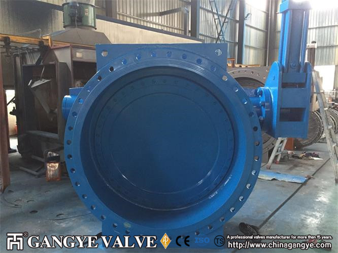 DN1600 butterfly type check valve (3)