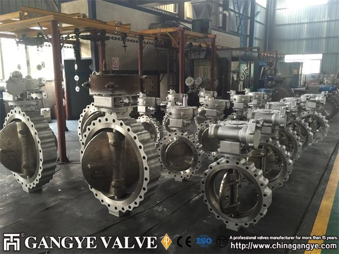 Double-eccentric Lug Type High performane Butterfly Valves (1)
