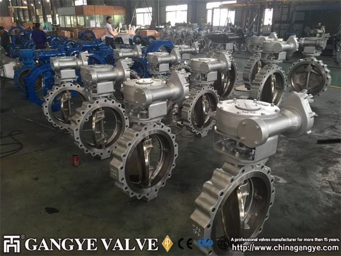 Double-eccentric Lug Type High performane Butterfly Valves (3)