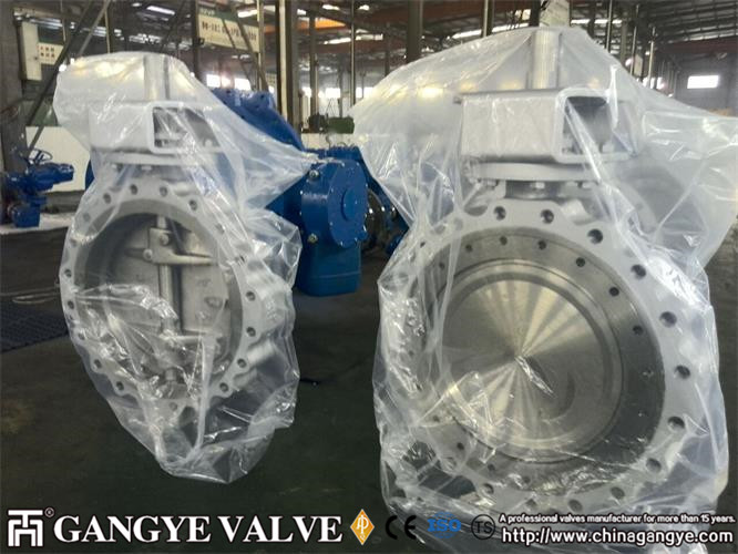 Double-eccentric Lug Type High performane Butterfly Valves (4)