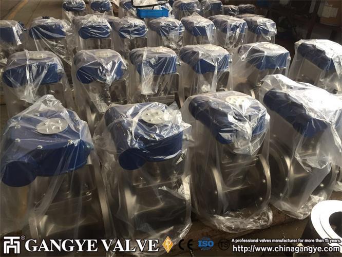 DIN standard plug valves, 904L material (2)