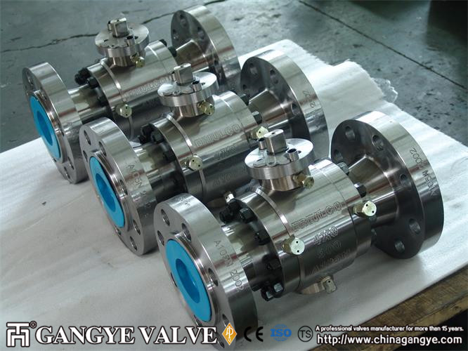 A105 Forged Steel Ball Valve (2)