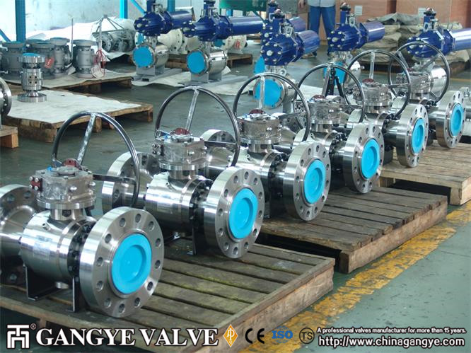 A105 Forged Steel Ball Valve (3)