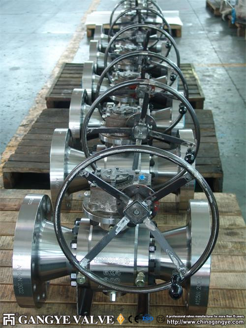 A105 Forged Steel Ball Valve (5)