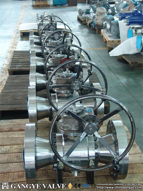 A105 Forged Steel Ball Valve (6)