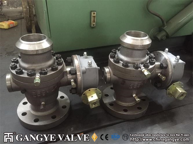 API Carbon Steel Ball Valve RFBW (4)