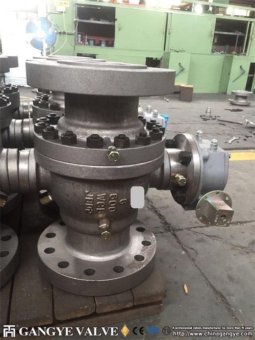 API Carbon Steel Ball Valve RFBW (8)