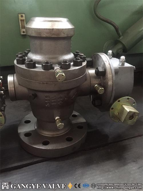 API Carbon Steel Ball Valve RFBW (9)