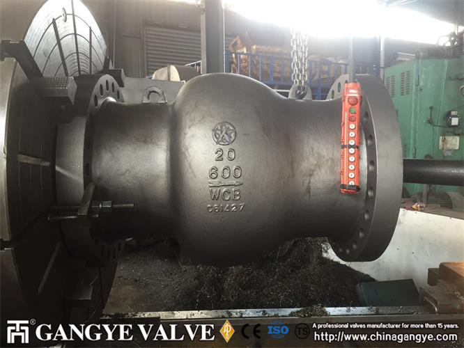DN1050-DN500 WCB Nozzle Check Valve (6)