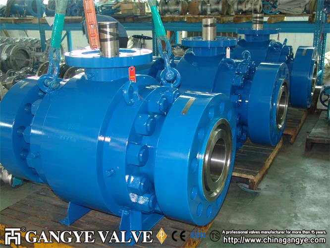 Forged RTJ Casted Stainless Steel Ball Valve (1)