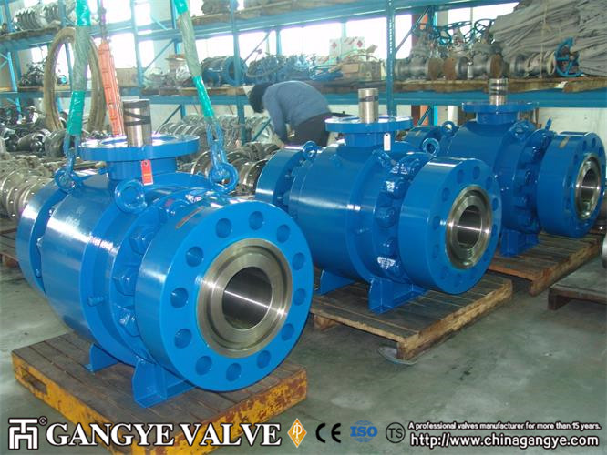 Forged RTJ Casted Stainless Steel Ball Valve (3)