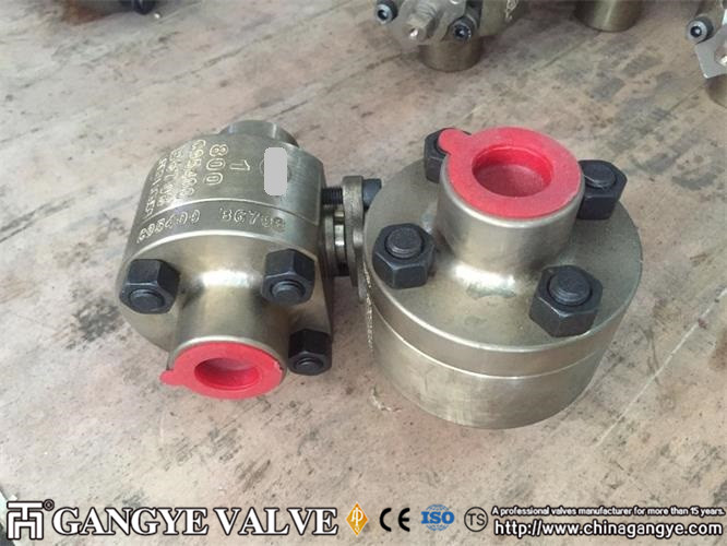 2 PC FLOATING BALL VALVE, SW, C95400 MATERIAL, 800LB 2 (5)