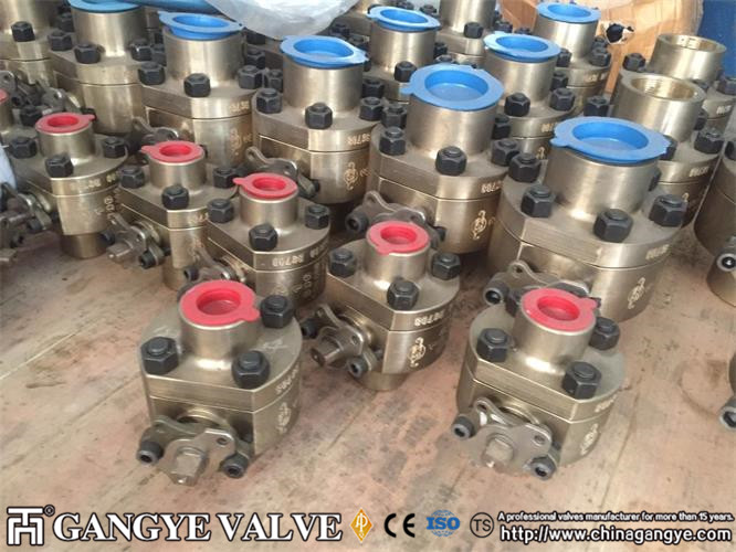 2 PC FLOATING BALL VALVE, SW, C95400 MATERIAL, 800LB 2 (6)