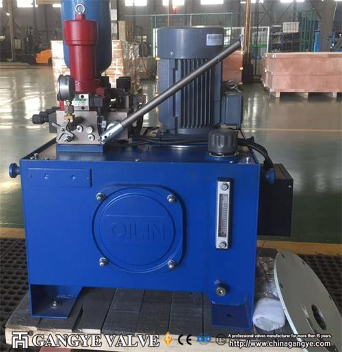 DN1500 WCB Counter-weight Hydraulic Control Check Butterfly Valve