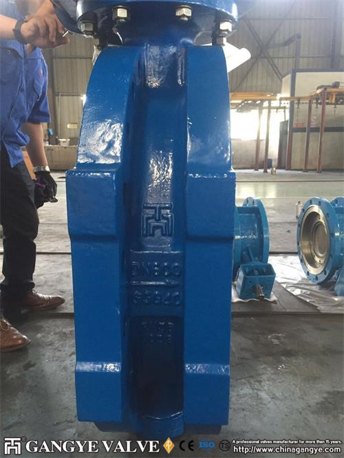 fully-metal-seal-triple-offset-flanged-butterfly-valve-in-ductile-iron-pn35-dn600-6gangye-valve