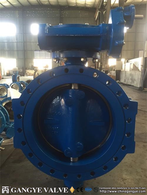 fully-metal-seal-triple-offset-flanged-butterfly-valve-in-ductile-iron-pn35-dn600-7gangye-valve