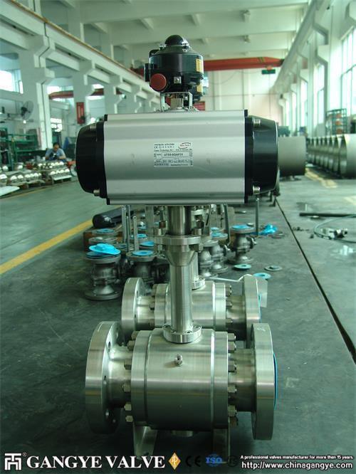 api-flanged-cryogenic-ball-valve-gangye-valve-4