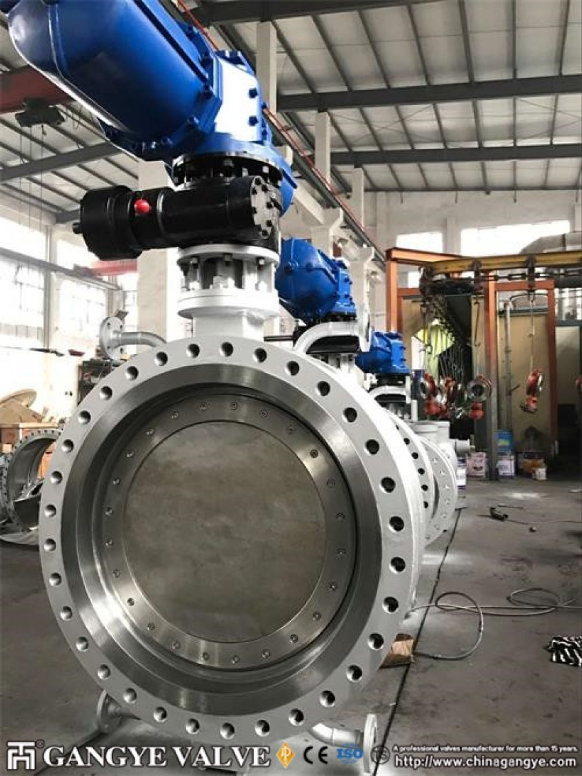 Jacketed Butterfly Valve Gangye Valve