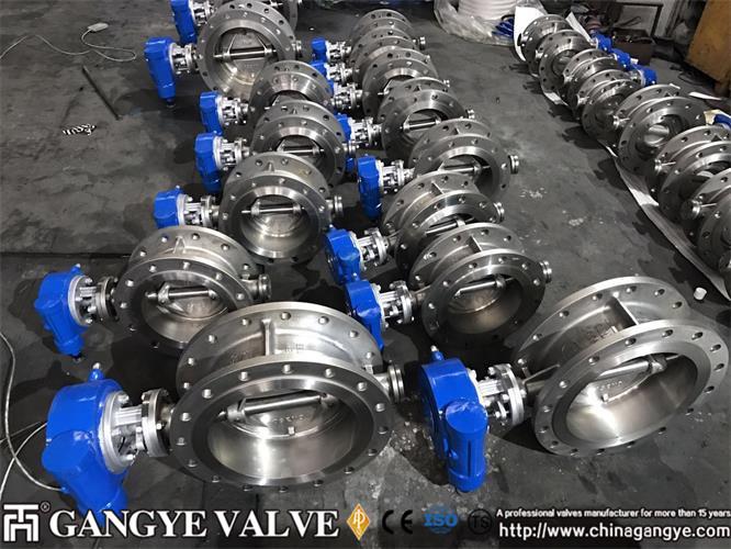 Triple offset butterfly valve-Gangye Valve (2)