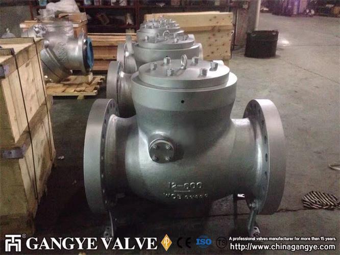 wcb-pressure-seal-flanged-type-tilting-disk-check-valve-gangye-valve-4
